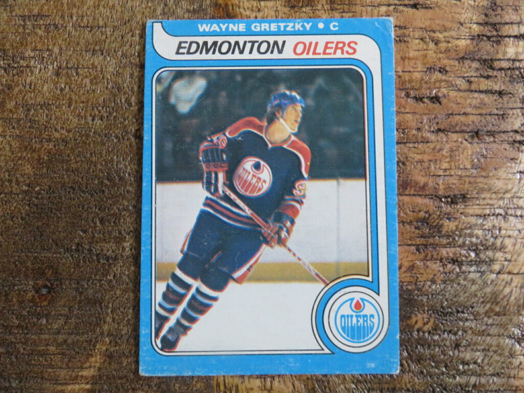 Online Auction Gretzky Rookie Card for Sale